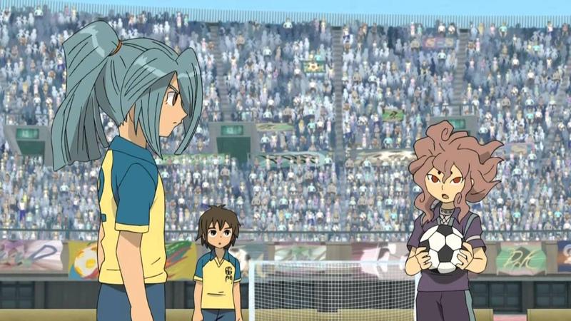 Одиннадцать Молний • Inazuma Eleven • 16 (1 часть) Серия • Озв. Enilou