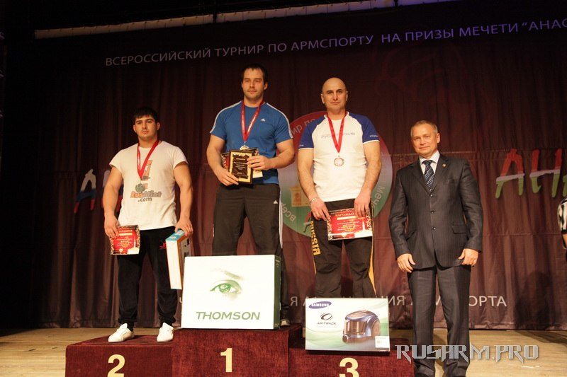 Ivan Matyushenko - 1st place - Anas 2013 - Armwrestling tournament in Chistopol