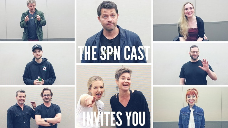 The Supernatural Cast Invites You To Give Back!