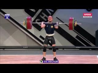 Геннадий Лаптев- Чемпион Европы по тяжелой атлетике вернулся в Новополоцк.