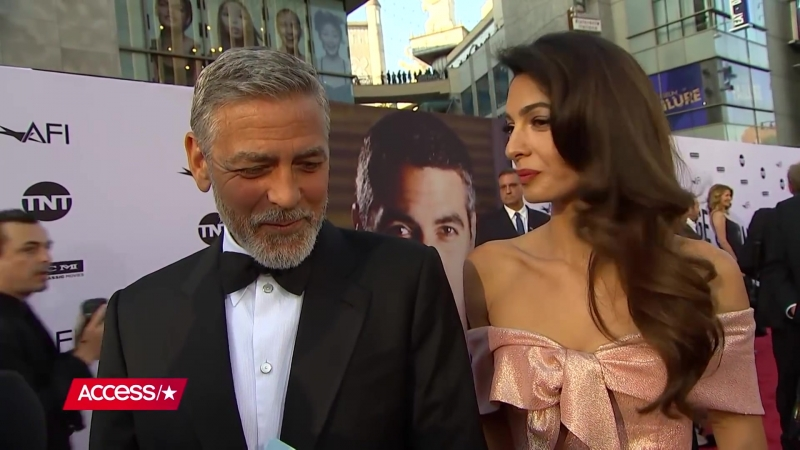 George Clooney Amal Clooney Spill Details From Meghan Markle Prince Harrys Wedding Reception