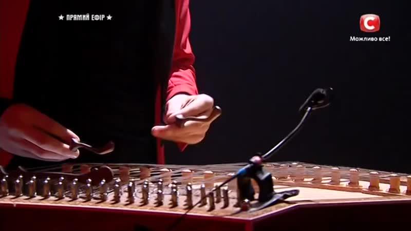 Влад Ониськив - Невероятная игра на цимбалах Україна має талант-9.Діти-2 ФИНАЛ [ (1)