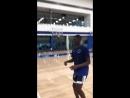 Sheck Wes демонстрирует баскетбольные «скиллы»