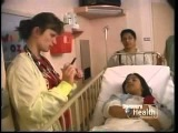 Young Girl Going Under Anesthesia