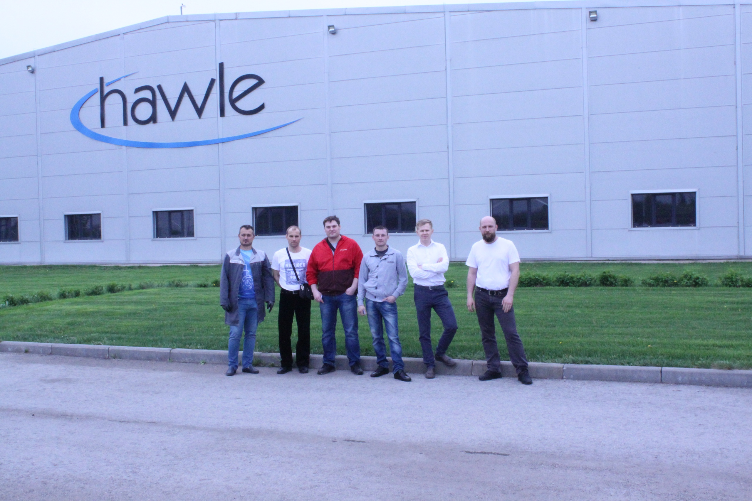 Фотоотчёт с посещения завода Hawle в Чаплыгине