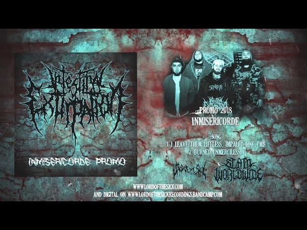 INTESTINAL EXTIRPATION - INMISERICORDE PROMO [OFFICIAL STREAM] (2018) SW EXCLUSIVE