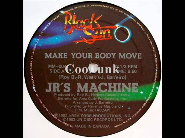 JR's Machine - Make Your Body Move (12 Funk 1982)