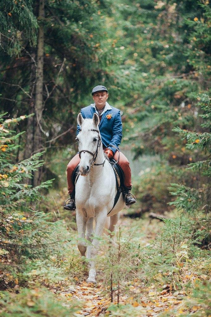 жених на белом коне