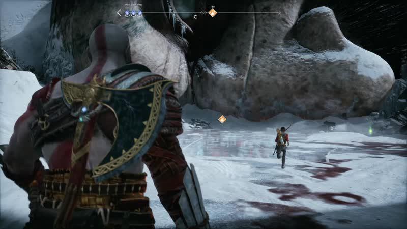 25. God of War - Путь на Гору. Голова Тамура.