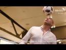 Давид Трезеге в Музее мирового футбола FIFA в Hyundai Motorstudio