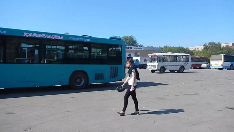 Майкудук летом   14мкр от автостанции через сквер