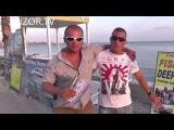 КИПР: Пляж и набережная в городе Пафос... остров Кипр... Cyprus beach Paphos