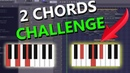 MAKING A BEAT WITH ONLY 2 CHORDS FL Studio CHALLENGE