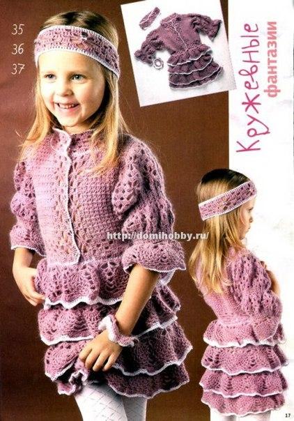 длинные волосы и платье в горошек
