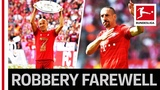 Robben &amp Ribery - An Emotional Farewell With One Last Title
