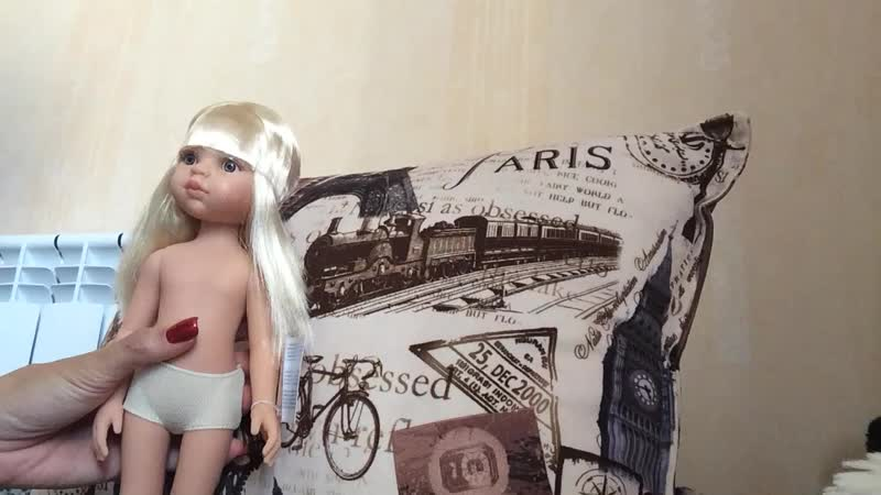 Как снять голову куколке Паола Рейна.