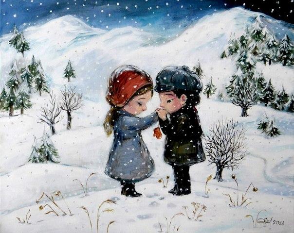 20 картин художницы Нино Чакветадзе, от которых становится тепло и уютно на душе: ↪ Прямо детством веет!
