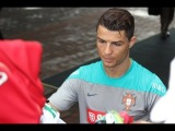 Не смотря на травму,Криштиану Роналду продолжает тренироваться со сборной Португалии 03.06.14