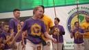 Cinza troca de cordas em Belgorod 2019 AXE Capoeira