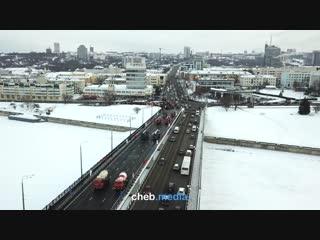 Открытие Московского моста. Чебоксары