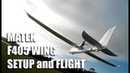 Matek F405 Wing FCB iNav setup and flight