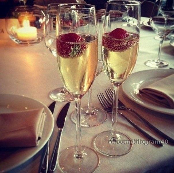 Хочу шампанского клубники цветов и на ручки