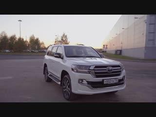НОВАЯ самая дорогая Toyota в России  6 млн рублей за Land Cruiser Executive Lounge ДОРОГО БОГАТО