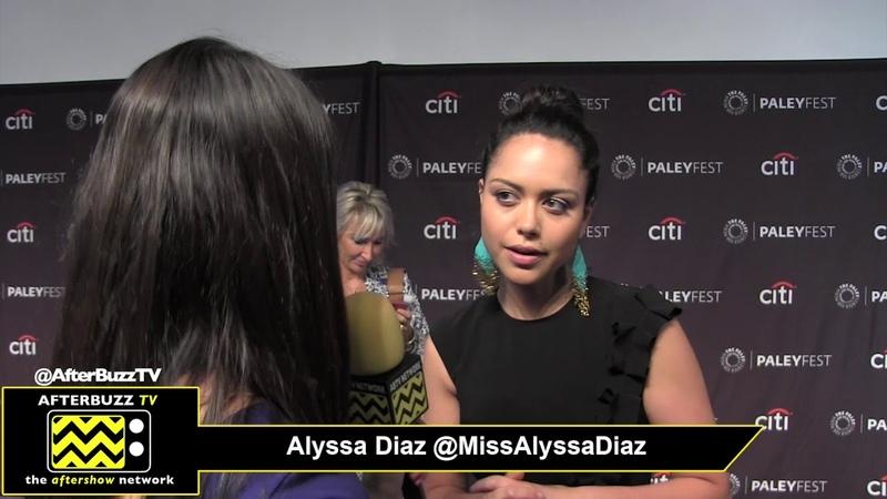 Alyssa Diaz at 2018 PaleyFest for The Rookie