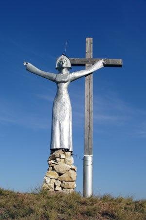 """nRufxso0xmA Активисты """"Нур Ислам"""" г. Кумертау требуют убрать скульптуру """"Труженица тыла"""" Антитеррор Люди, факты, мнения"""