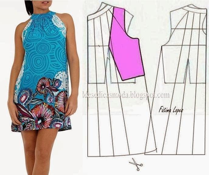 Как сшить летнее платье своими руками выкройки фото