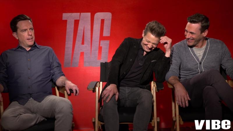 Ed Helms, Jon Hamm, And Jeremy Renner Talk Favorite Spots Playing Tag - VIBE