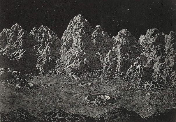 В 1874 году астроном Джеймс Карпентер и изобретатель Джеймс Несмит опубликовали одну из самых влиятельных книг того времени по лунной геологии под названием «Луна: планета, мир и спутник». На 276 страницах авторы подытожили результаты трёх десятилетий исс