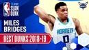 Miles Bridges' Best Dunks of the Season 2019 AT T Slam Dunk Participant
