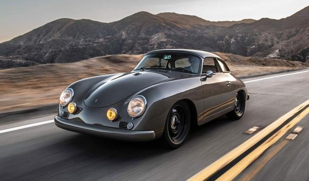 Обзор : Porsche 356 от Emory Motorsports Двигатель: 2.4 B4 Emor-Rothsport «Outlaw-4» с воздушным охлаждением.Трансмиссия: Механика 5 ступ. Масса: 839 кг Проект выполнен для рок-звезды Джона Отса