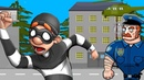 ВОРИШКА БОБ сбежал из тюрьмы ПЕРВОЕ ЗАДАНИЕ мульт игра ДЛЯ ДЕТЕЙ Robbery Bob 1