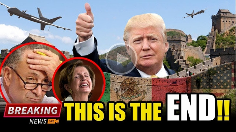 GAME OVER Trump Just Made FINAL MOVE On BORDER Then ALL HELL BROKE LOOSE On DEMS VIDEO