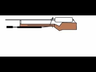 самодельная пневматика калибра 4 5мм  как сделать оружие своими руками