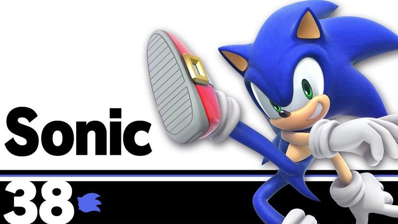 38: Sonic – Super Smash Bros. Ultimate