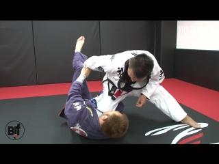 Yuji Okamoto - spider guard pass and choke