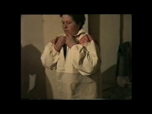 Женский традиционный костюм с. Выезжее Белгородской обл. 1998