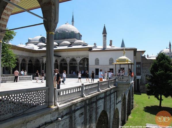 Двopец Султaнa Сулeймaнa в Стамбуле, Туpция