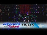 Light Balance Light Up Dance Crew Delivers Amazing Performance - America's Got Talent 2017