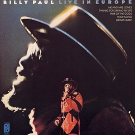 Billy Paul альбом Live In Europe