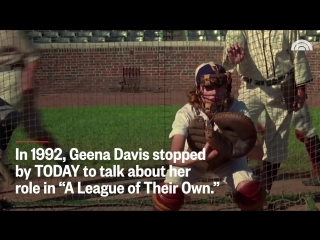 Geena Davis Reveals What Was The Most Fun About Filming 'A League Of Their Own' In 1992 ¦ TODAY