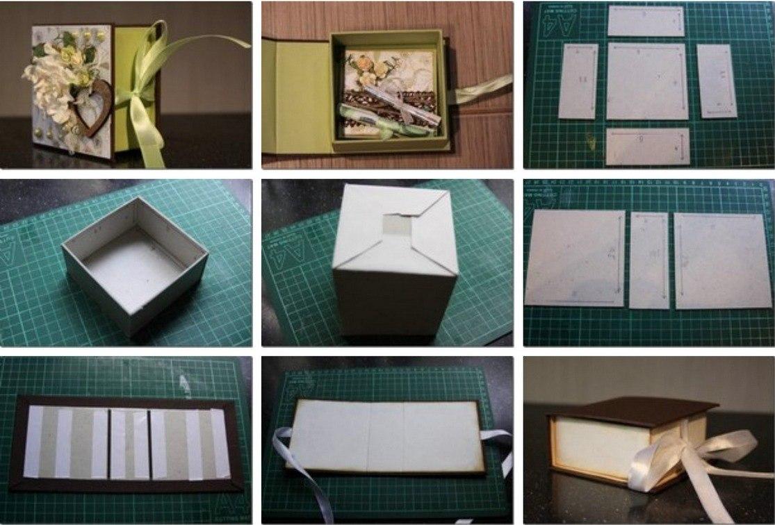 Идеи для подарочной коробки своими руками 52