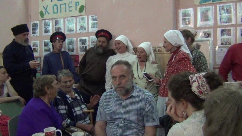 Звенит звонок и тройка мчится. Анс. Хопёрочка и Старина (2.08.2018)
