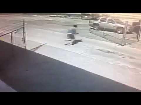 O caso do rapaz que não conseguiu fechar um portão