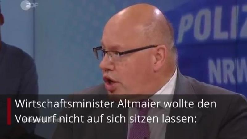 ► Grünen-Mann Hofreiter greift Altmaier in ZDF-Talk direkt an - dann fallen beide aus ihrer Rolle