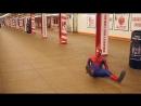 Amazing Spider Man Break Dance Flips Spins Tricks