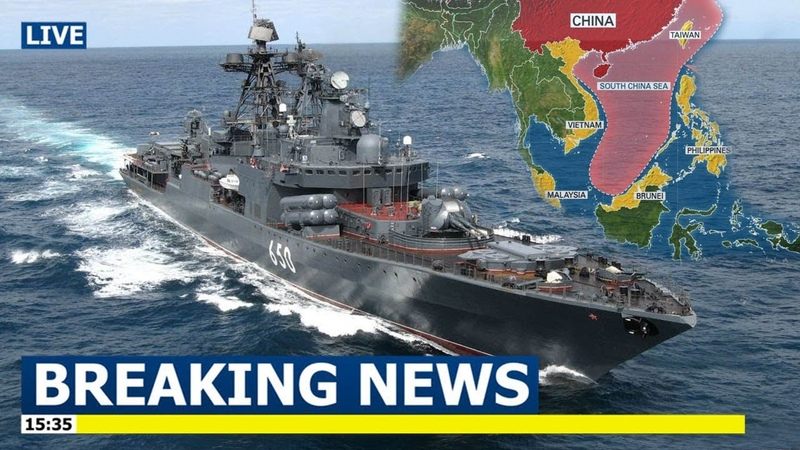 Russian warships arrive in the Philippines amid rising South China Sea tensions